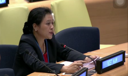 Việt Nam cam kết tiếp tục hợp tác chặt chẽ với các cơ quan của Liên hiệp quốc thực thi pháp quyền