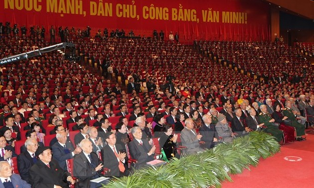 167 đảng, tổ chức và bạn bè quốc tế  gửi Điện mừng Đảng cộng sản Việt Nam