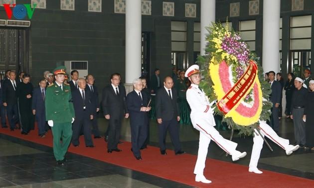 Церемония прощания с генерал-лейтенантом Донг Ши Нгуеном