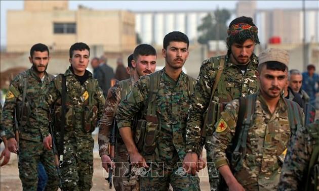 Россия заявила о досрочном отводе курдов из зоны безопасности в Сирии