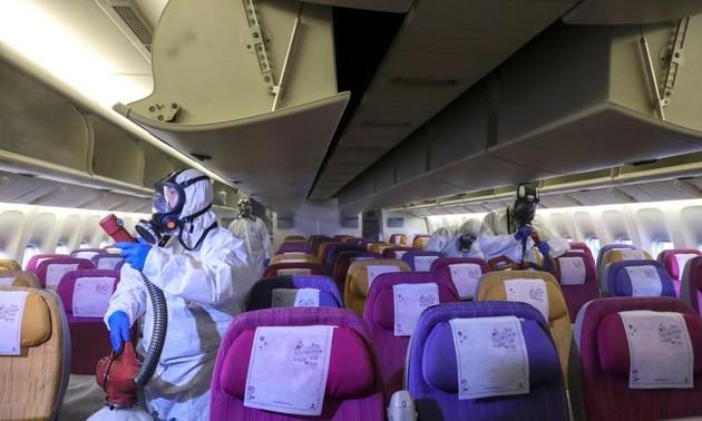 Авиакомпании применяют решительные меры для борьбы с коронавирусом
