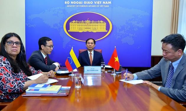8-ые вьетнамо-венесуэльские политические консультации на уровне замминистров иностранных дел