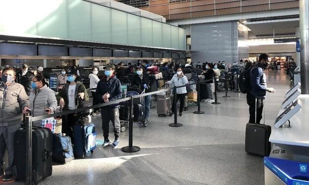 Возвращение более 600 вьетнамских граждан из Японии и Республики Корея на Родину