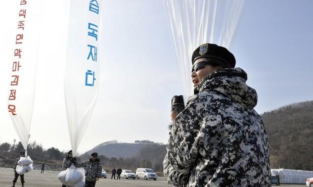 Республика Корея запретит распространять листовки с критикой КНДР с пограничных территорий