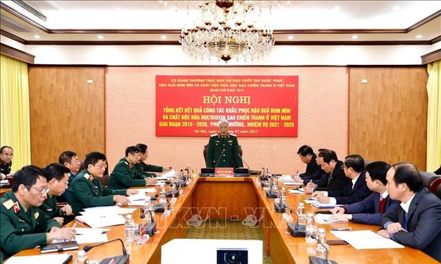 Прилагаются большие усилия по ликвидации последствий применения бомб, мин и диоксина во Вьетнаме