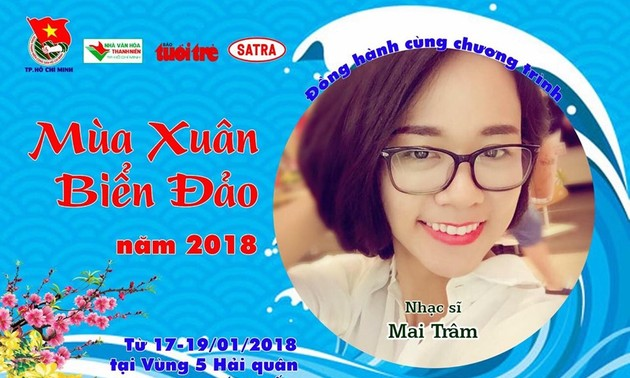 Lagu-lagu ciptaan komponis muda Mai Tram tentang kepulauan Truong Sa yang tercinta dari Vietnam