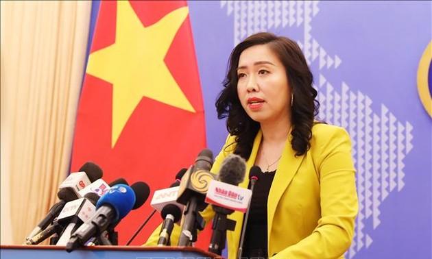 Menyampaikan Nota untuk memprotes dan  dan meminta kepada Tiongkok supaya memberikan santunan yang layak  terhadap kerugian-kerugian yang diderita para nelayan Vietnam