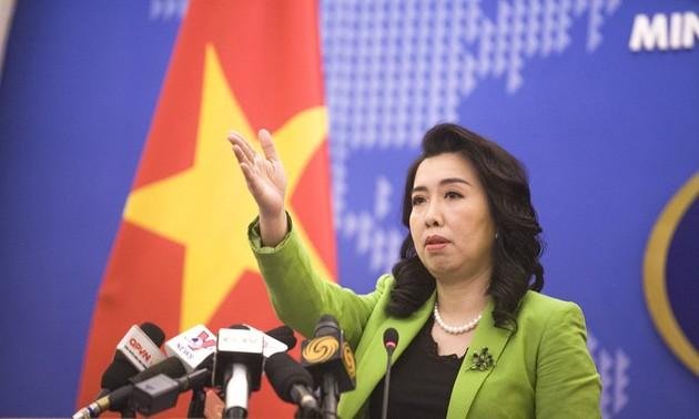 Latihan perang yang dilaksanakan Tiongkok di sekitar Kepulauan Hoang Sa telah melanggar kedaulatan Vietnam terhadap kepulauan ini