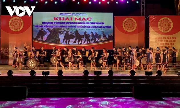 Provinsi Gia Lai Lestarikan Ruang Budaya Gong dan Bonang