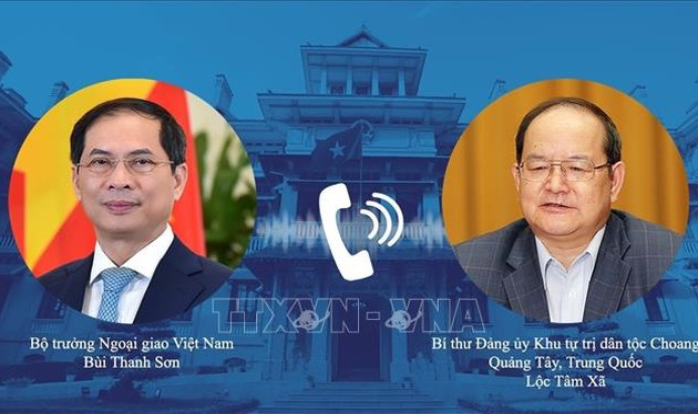 Perkuat Kerja Sama Persahabatan AntarDaerah Vietnam dengan Guangxi, Tiongkok