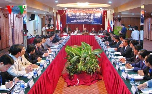 Conférence internationale sur les lignes frontalières Vietnam – Laos
