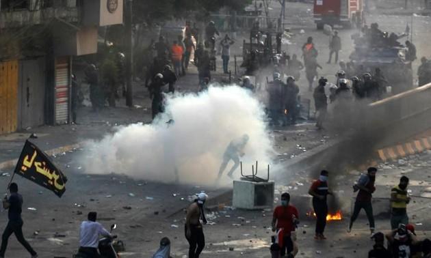 Irak: nouveaux tirs à Bagdad malgré le couvre-feu