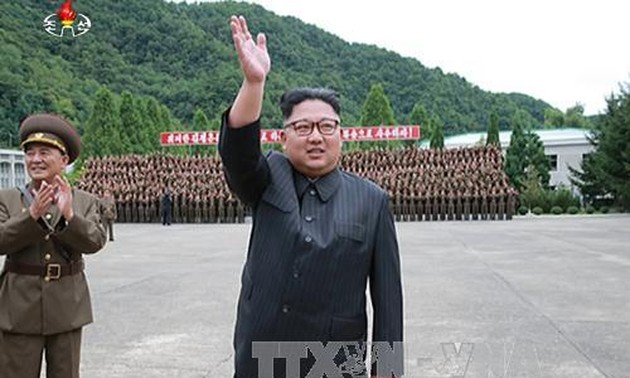 North Korea launches target-striking contest