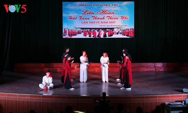 Xoan singing recognized as intangible cultural heritage of humanity
