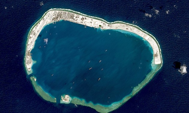 France, Germany, UK reject China's claims in East Sea