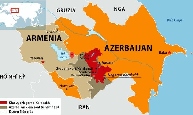 Minsk Group calls for immediate ceasefire in Nagorno–Karabakh