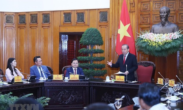Deputy PM:  Private economy is important momentum for national development