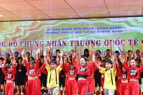 Hanoi's public school recognized as Cambridge school