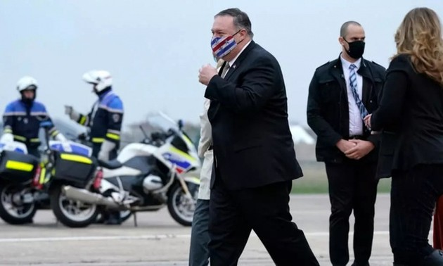 Pompeo wraps up trip to Europe, Middle East