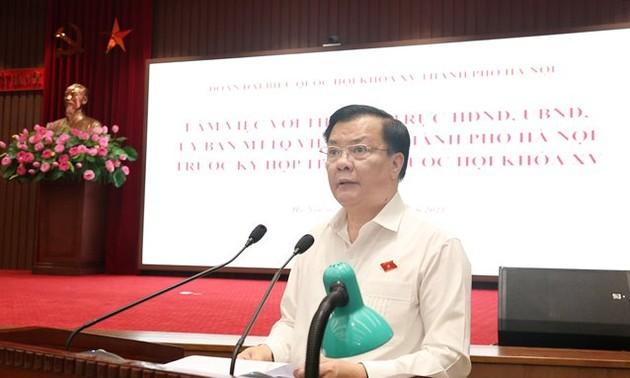 Hanoi will return to normal as pandemic under control: Hanoi Party Secretary
