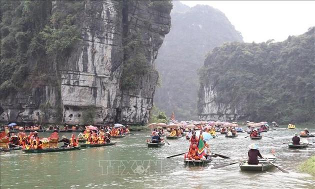 Membuka Festival Trang An tahun 2019