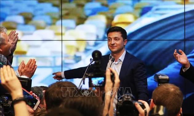 Pimpinan Uni Eropa berseru kepada Presiden terpilih Ukraina supaya mendorong reformasi
