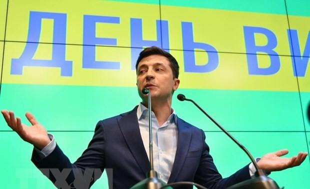 Presiden Ukraina membantah terlibat dalam skandal pemilihan AS