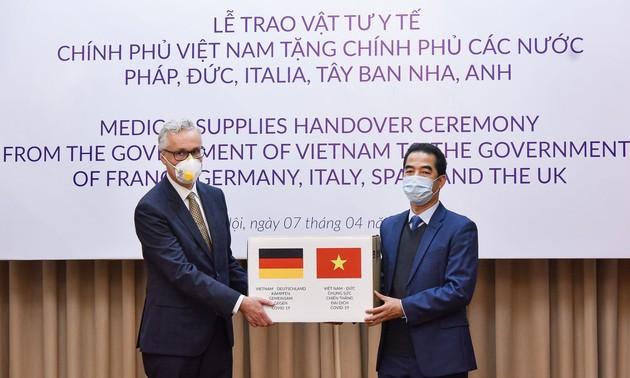 Kemlu Jerman mencatat bantuan pemerintah dan rakyat Vietnam