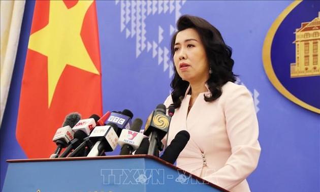 Kegiatan di kawasan kepulauan Truong Sa Vietnam tanpa diizinkan oleh Vietnam tidak bernilai
