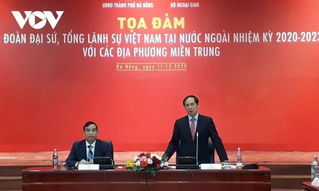 Badan Perwakilan Diplomatik Vietnam di Luar Negeri dan Berbagai Daerah Meningkatkan Integrasi Internasional