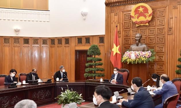 Hubungan Kemitraan Strategis antara Vietnam dan Singapura tengah Berkembang Kian Intensif