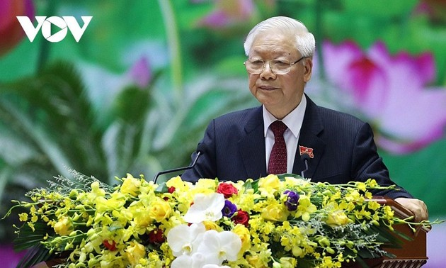 Artikel Sekjen Nguyen Phu Trong Tegaskan Visi PKV yang Benar
