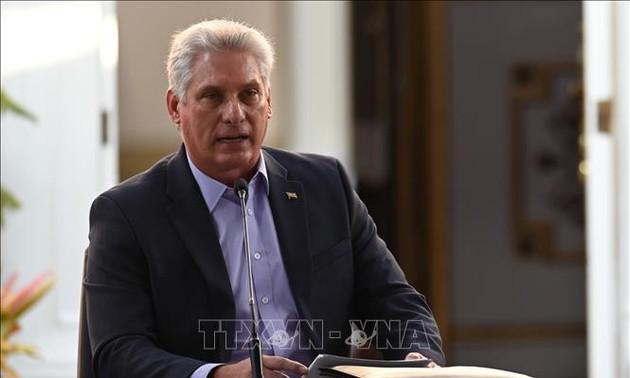 Presiden Miguel Diáz-Canel: Kuba Tidak Sendirian Berkat Solidaritas Vietnam