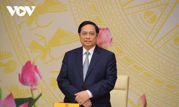 PM Pham Minh Chinh: Badan Usaha Perlu Terus Berikan Sumbangsih dalam Proses Pembangunan Tanah Air