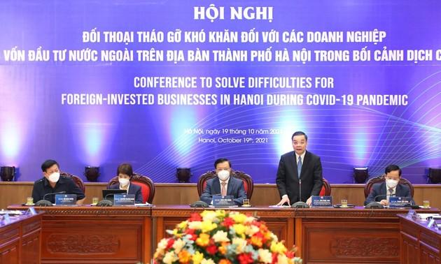Kota Hanoi Lakukan Dialog untuk Atasi Kesulitan bagi Badan Usaha