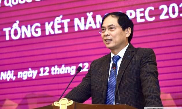 Entfaltung der erreichten Erfolge des APEC-Jahres 2017