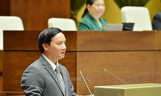 Parlament ratifiziert Beschluss über die Gesetzgebungsarbeit im Jahr 2019