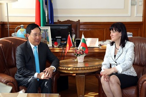 Aktivitäten des Vize-Premierministers Pham Binh Minh in Bulgarien