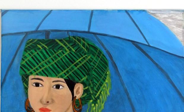 Das Werk einer vietnamesischen Malerin wird in Italien ausgestellt