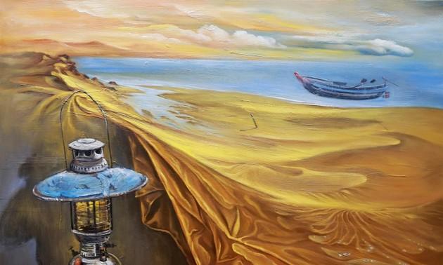 Ausstellung von elf Malern aus Nord-, Zentral- und Südvietnam