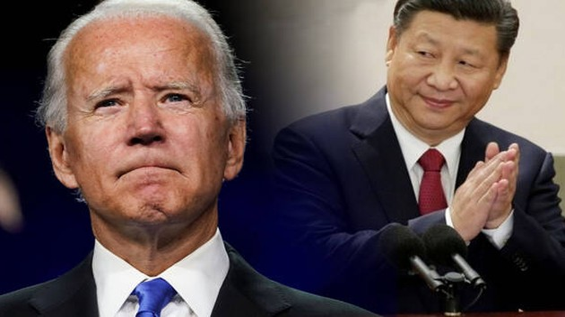 US-Präsident Joe Biden führt erstmals ein Telefongespräch mit dem chinesischen Staatspräsidenten Xi Jinping durch