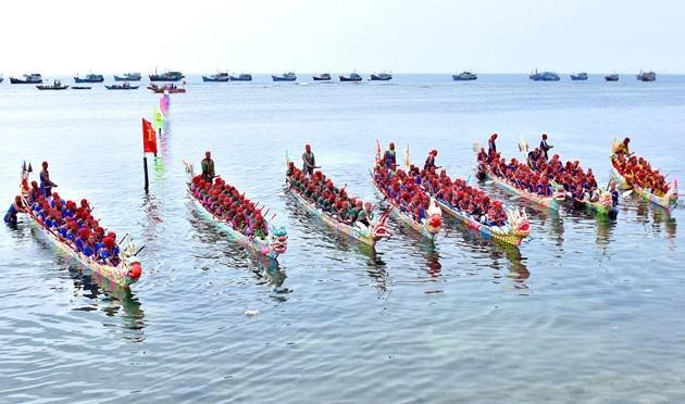 Ly Son wird Bootsrennen zur Begrüßung der Urkunde des nationalen immateriellen Kulturerbes veranstalten