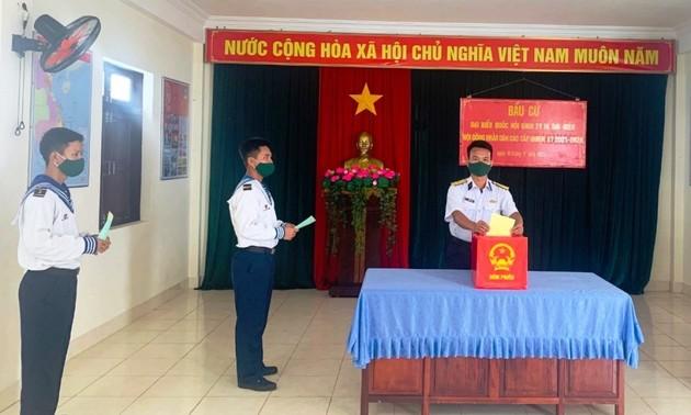 Wahlen im Inselkreis Truong Sa finden sicher und termingerecht statt