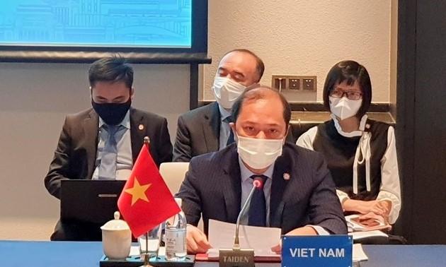 Beamte der ASEAN und Chinas kommen zur Konferenz über die Umsetzung der DOC zusammen