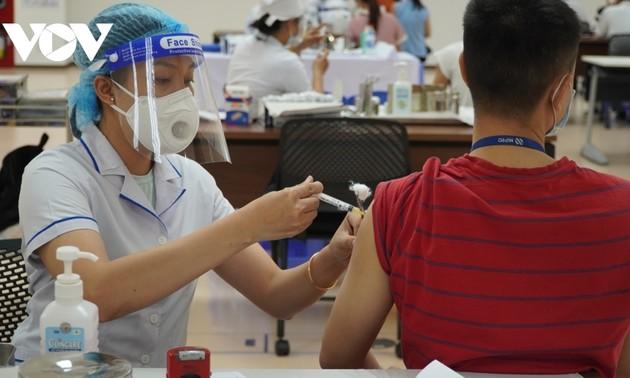 Die größte Impfkampagne in der Geschichte in Ho Chi Minh Stadt