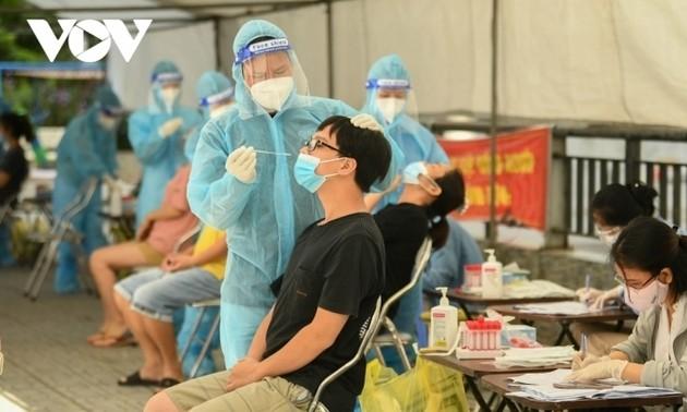 Vietnam hat weitere 12.607 Covid-19-Fälle