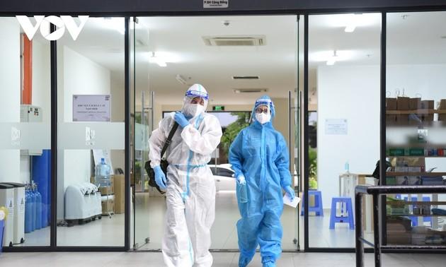 Vietnam bestätigt weitere 13.137 Covid-19-Fälle
