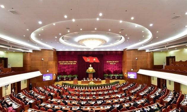 권력통제, 당 구축에 대한 결의를 구체화하는 단계
