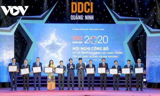 꽝닌 (Quảng Ninh), PCI 랭킹 1위 유지