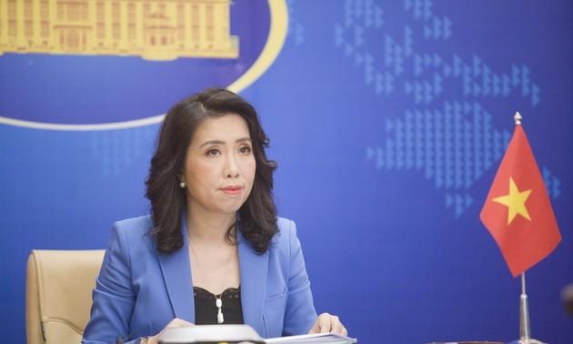 베트남, 쯔엉사(Trường Sa) 군도 해역 출현 중국 선박 300척 관련 발언